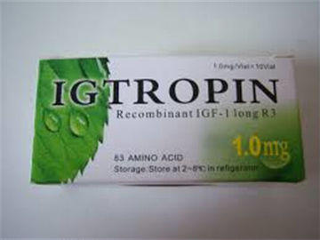 China IGTROPIN / IGF-1 lr3 Natural HGH Supplements Improved Amino Acid Transport Cells distributor